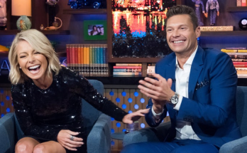 Ryan Seacrest and Kelly Ripa on Live!